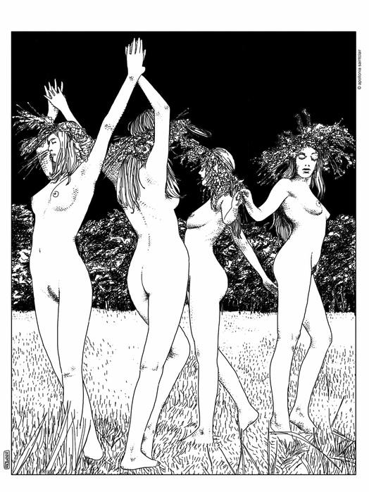 Орби бердслей эротические картинки 7 фотография