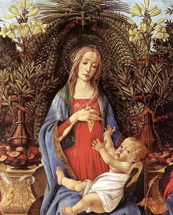 5. Богородица с младенцем (562x700, 394Kb)
