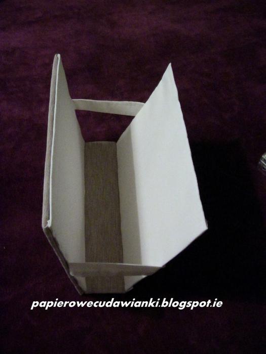 Газетница из картона своими руками. Мастер-класс (14) (525x700, 315Kb)