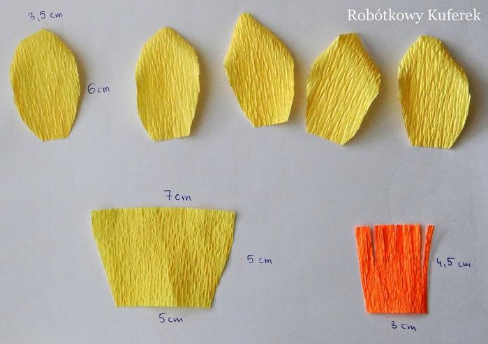 Пасхальная ВЕРБА. Декоративная композиция из веточек вербы и цветов из гофрированной бумаги (30) (700x494, 326Kb)