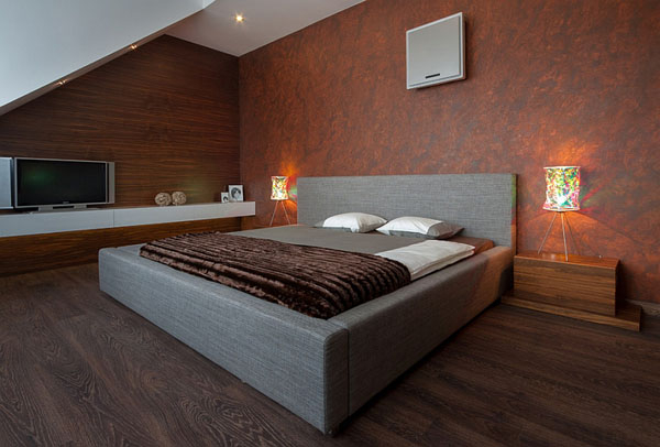 A frame bedroom