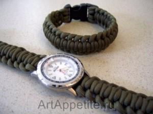 Браслет для часов своими руками (1) (300x224, 56Kb)
