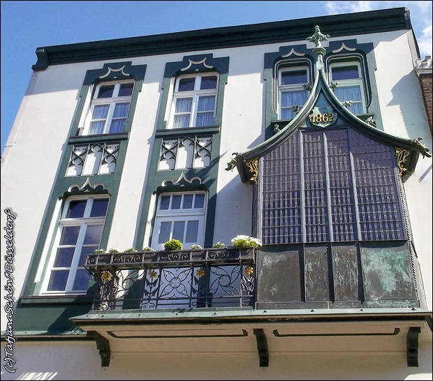 Маленький немецкий город Кевелар