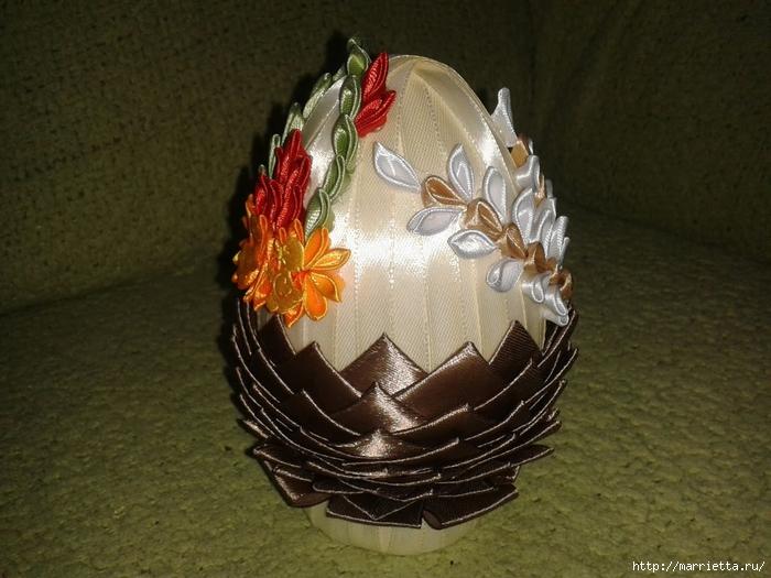 Пасхальные яйца из лент в технике АРТИШОК (33) (700x525, 269Kb)