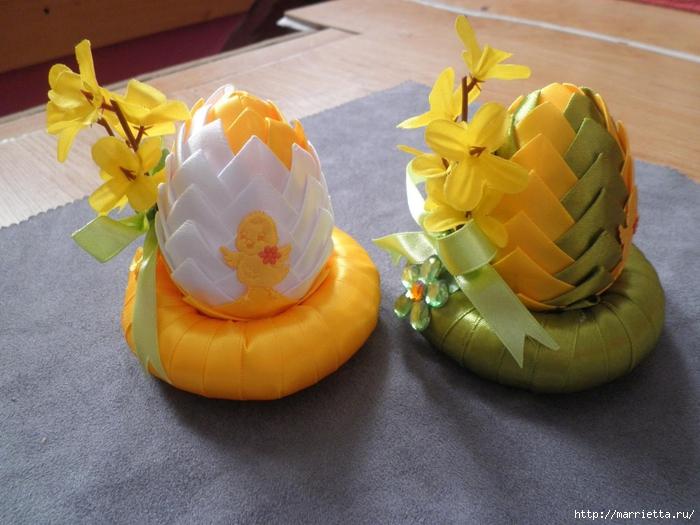 Пасхальные яйца из лент в технике АРТИШОК (61) (700x525, 277Kb)