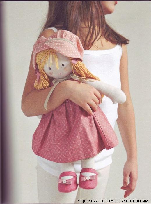 Фото и выкройки кукол своими руками