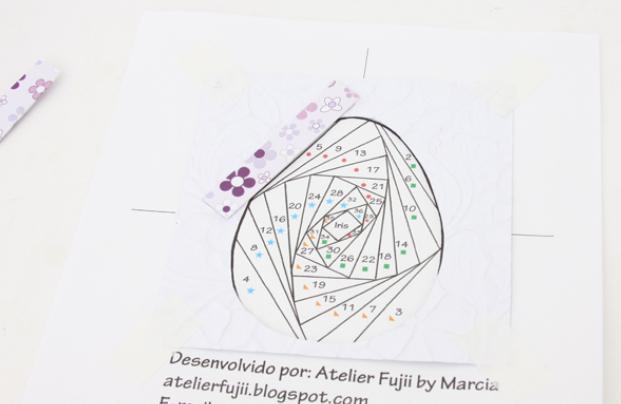 Пасхальная открытка в технике Айрис фолдинг (13) (621x404, 252Kb)