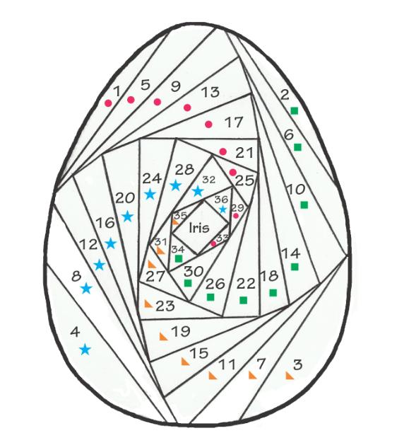 Пасхальная открытка в технике Айрис фолдинг (18) (562x619, 267Kb)