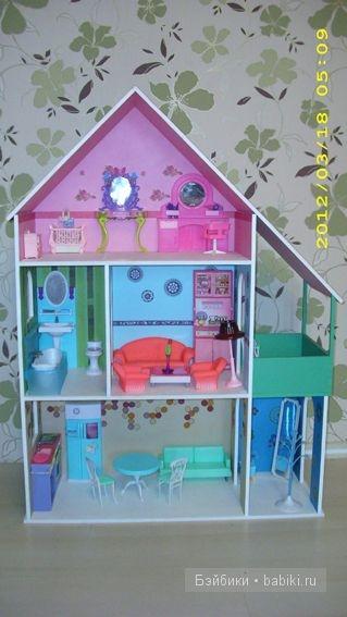 Кукольный дом своими руками для барби