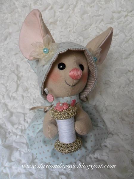 текстильная игрушка крыска (4) (450x600, 293Kb)