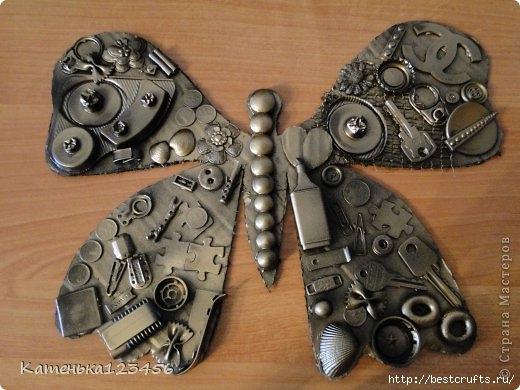 Декоративная картина с бабочкой (8) (520x390, 134Kb)