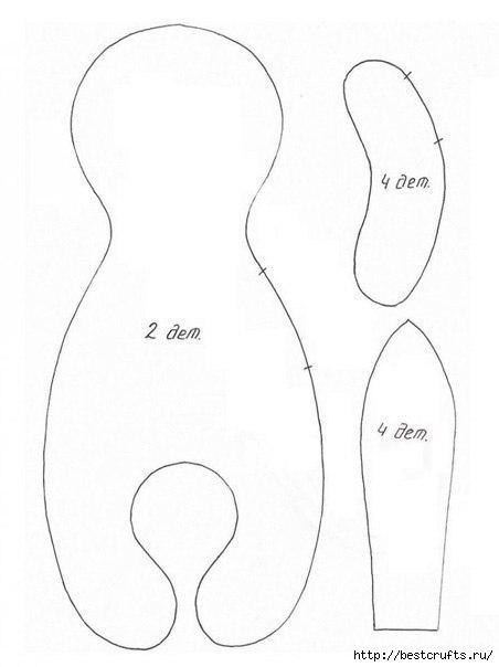 Шьем зайчика из флиса (3) (452x604, 65Kb)