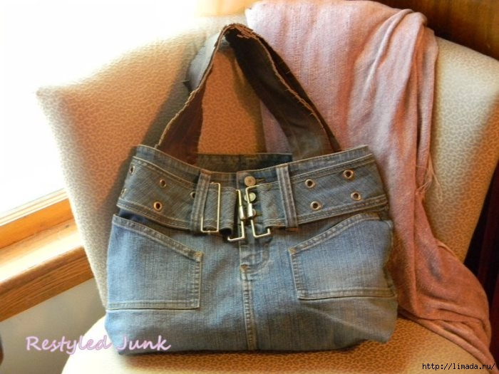 Denim-Tote-Made-From-Denim-Skirt (700x525, 194Kb)
