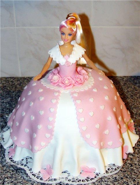 Торт барби своими руками фото