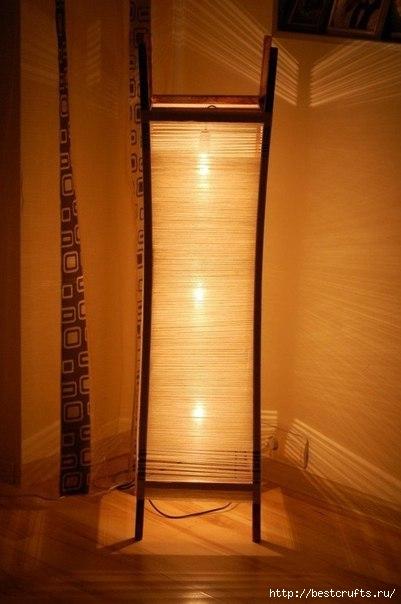 Напольная лампа своими руками (5) (401x604, 116Kb)