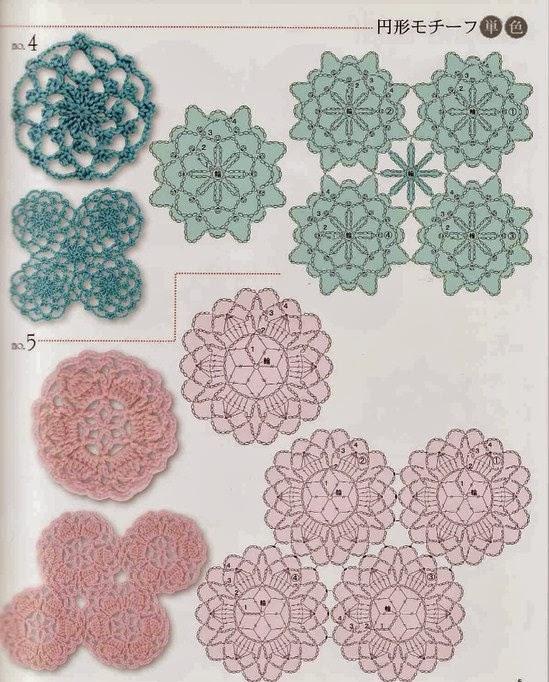 钩针单元花(120)
