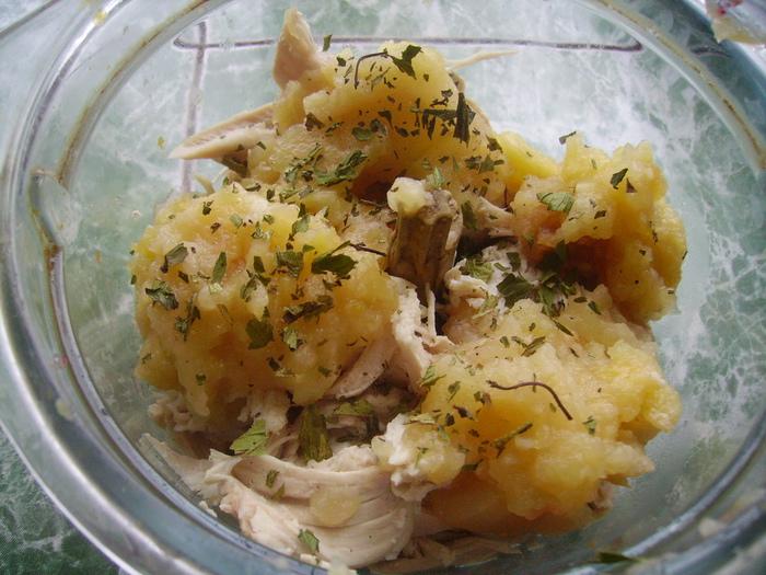 Овощное рагу грудкой рецепт фото