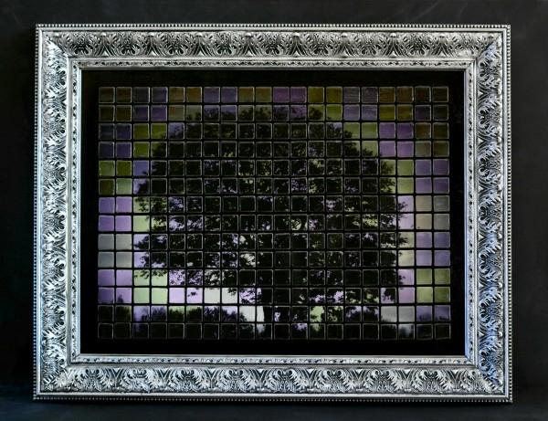 Панно из керамической плитки - мозаики и распечатки на принтере (8) (600x461, 314Kb)