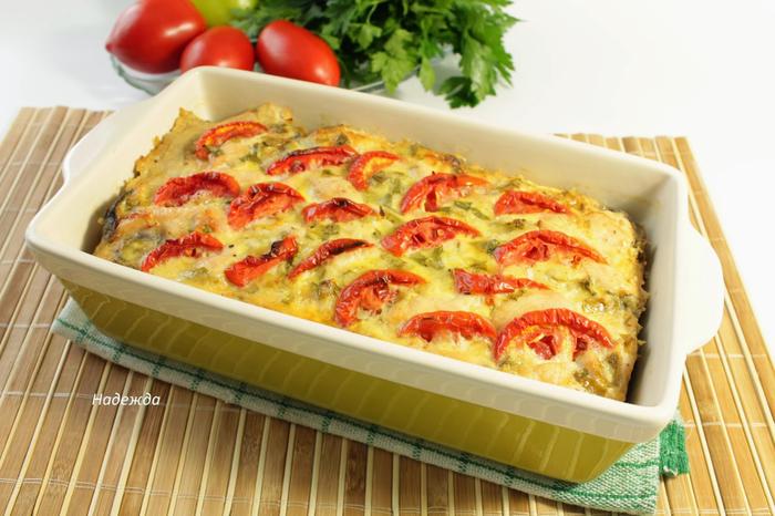 Куриное филе - запекаем с овощами (9) (700x466, 373Kb)