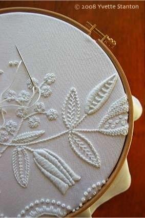 видами вышивки и шитья.