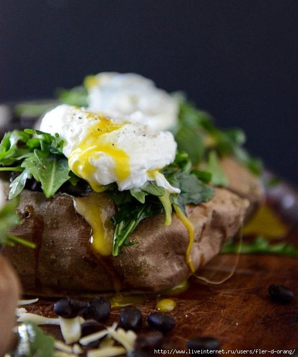 Что приготовить с яйцами и картошкой