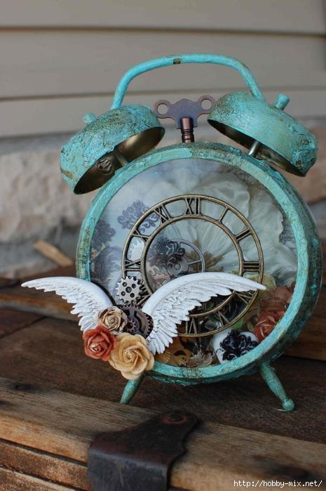 Часы будильник своими руками