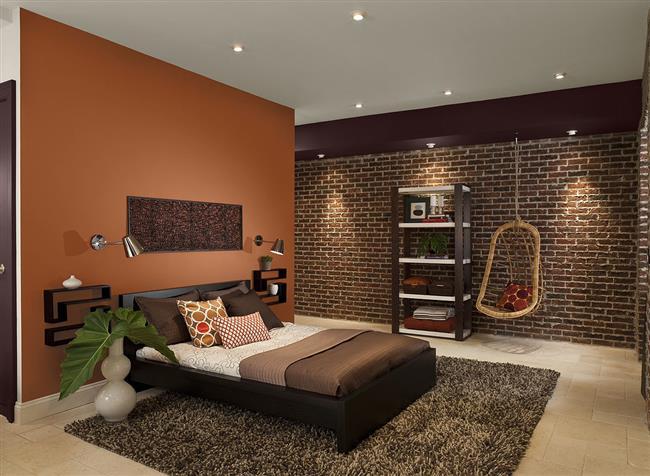 Orange-and-Brown-Bedroom-Custom (650x476, 220Kb)
