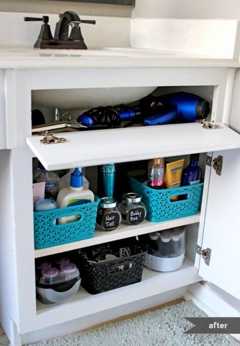 Супер идеи, как устроить место для хранения вещей под мойкой 126809679 121515 2120 mojka2