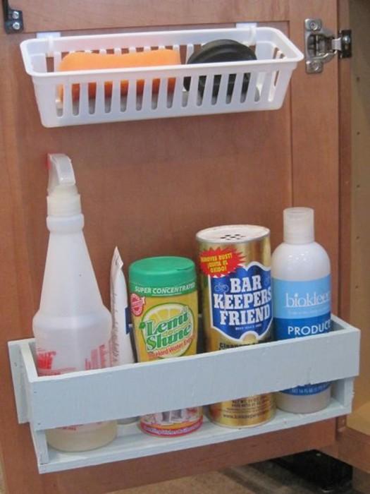 Супер идеи, как устроить место для хранения вещей под мойкой 126809687 121515 2120 mojka9
