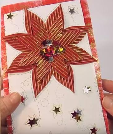 Рождественская открытка своими руками (1) (364x430, 150Kb)