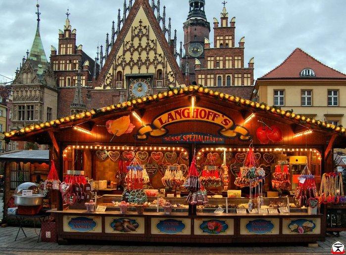 Когда начинаются рождественские ярмарки в европе в 2018