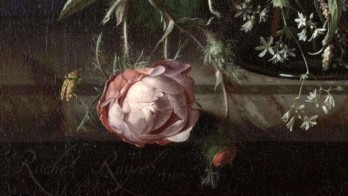 Рахель Рюйш, XVIII век, (с) музей Rijksmuseum Нидерланды