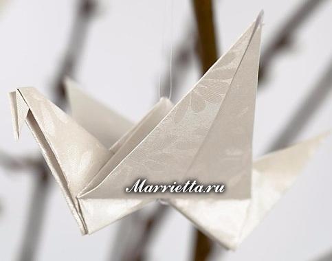 Цветы ЛИЛИИ и журавлики из бумаги в технике оригами (16) (483x380, 94Kb)