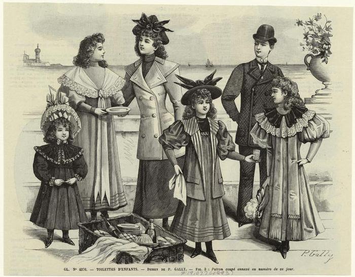 Винтажная детская мода, винтажная мода