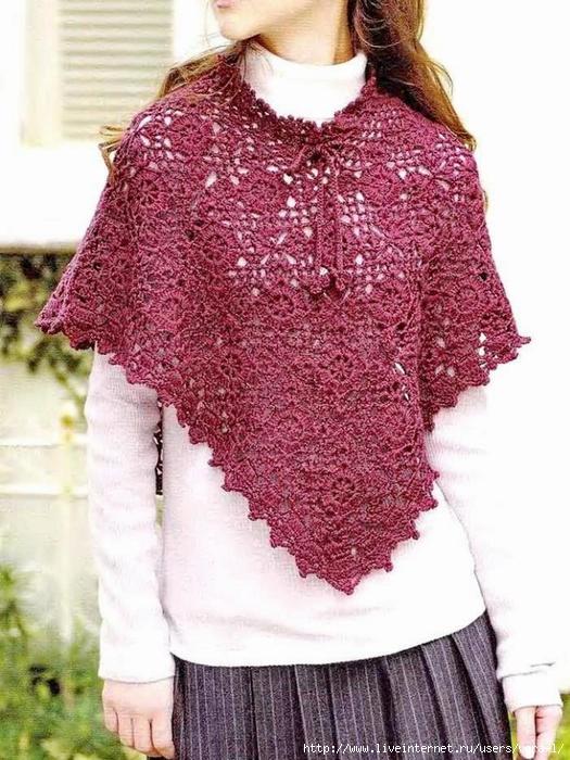 Crochet-Lace-Poncho P19 (1) (525x700, 308Kb)