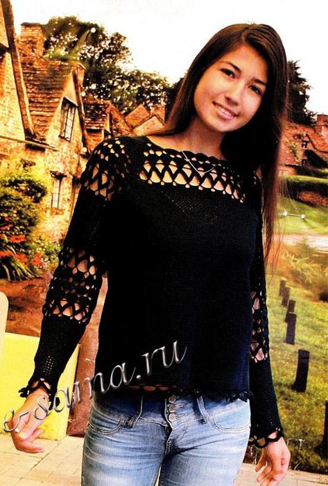 Chernyi-azhurnyi-pulover-kriuchkom-foto (473x700, 396Kb)