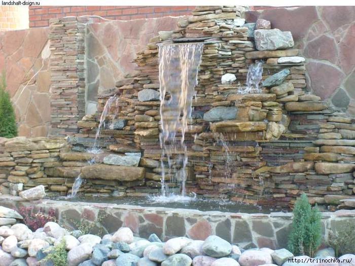 Искусственные водопады фото своими руками