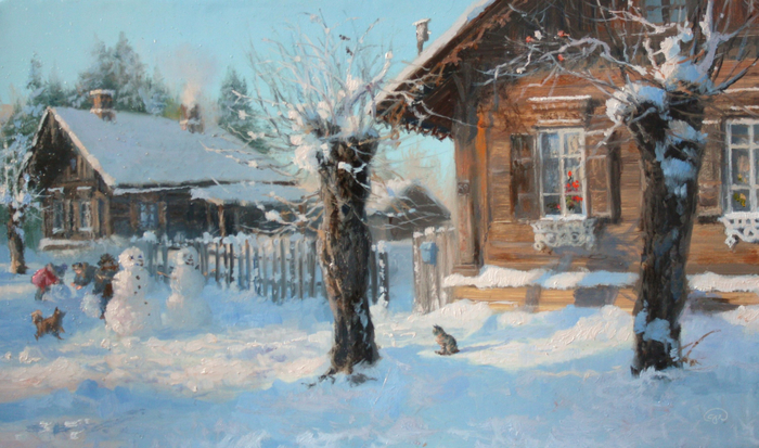 Жданов-Владимир-Юрьевич.-Пришла-зима (700x413, 390Kb)