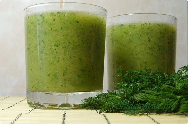 зеленый коктейль (604x400, 176Kb)