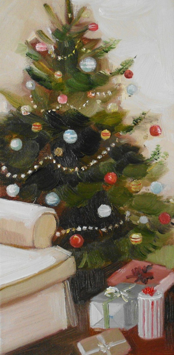 Balsam Fir Tree by Janet Hill (343x700, 287Kb)