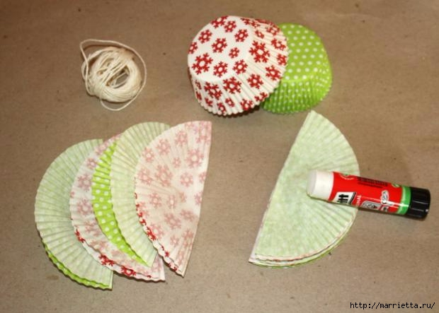 Navidad usar vasos de papel para pasteles (6) (620x443, 126Kb)