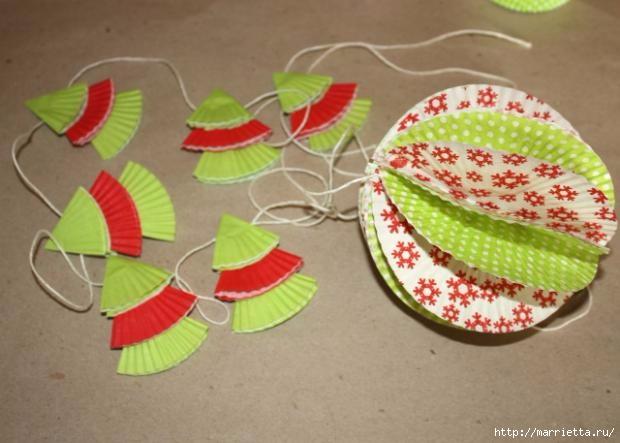 Navidad usar vasos de papel para pasteles (10) (620x443, 128 Kb)