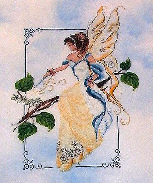 Весенняя фея (500x599, 327Kb)