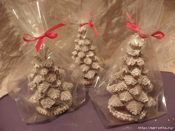 Рождественские пряники. Красивые идеи (4) (600x450, 131Kb)
