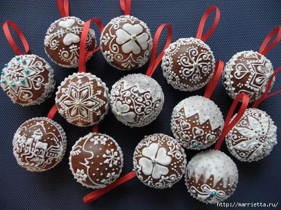 Рождественские пряники. Красивые идеи (6) (550x412, 218Kb)