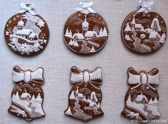 Рождественские пряники. Красивые идеи (16) (567x421, 219Kb)