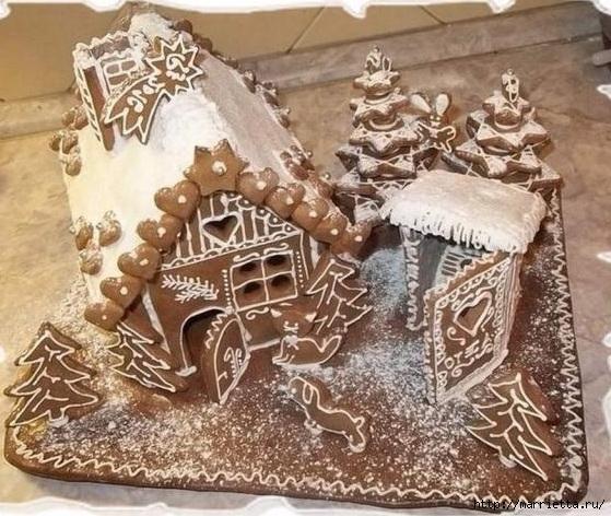 Рождественские пряники. Красивые идеи (21) (559x472, 227Kb)
