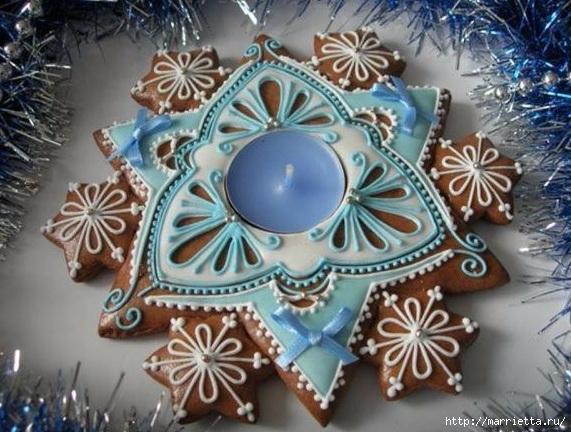 Рождественские пряники. Красивые идеи (33) (571x432, 201Kb)
