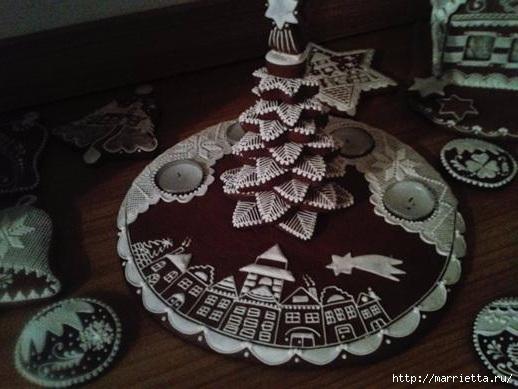Рождественские пряники. Красивые идеи (34) (518x389, 123Kb)