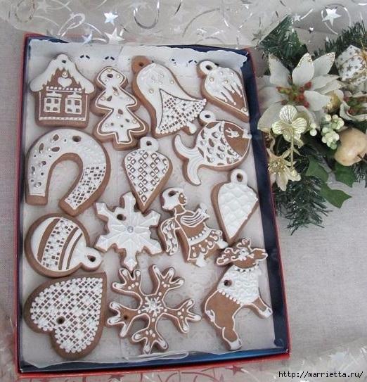 Рождественские пряники. Красивые идеи (40) (522x543, 220Kb)